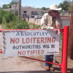 Rev: Researching for a new novel in New Mexico and loitering at the same time.