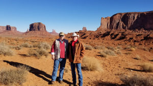 Gilstrap and Wortham in Monument Valley